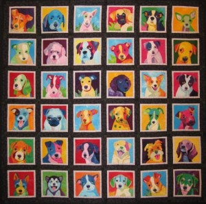 pup-art-pop-art-quilt-by-nancy-brown