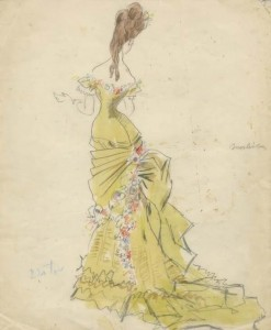 sir-cecil-beaton-fashion-sketch